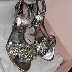 Sophia Webster Crystal Heels 7